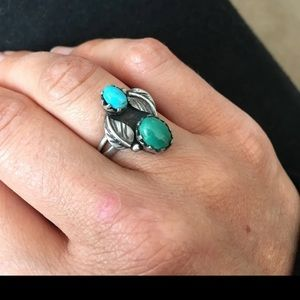 Jewelry - Vintage Turquoise Silver Ring